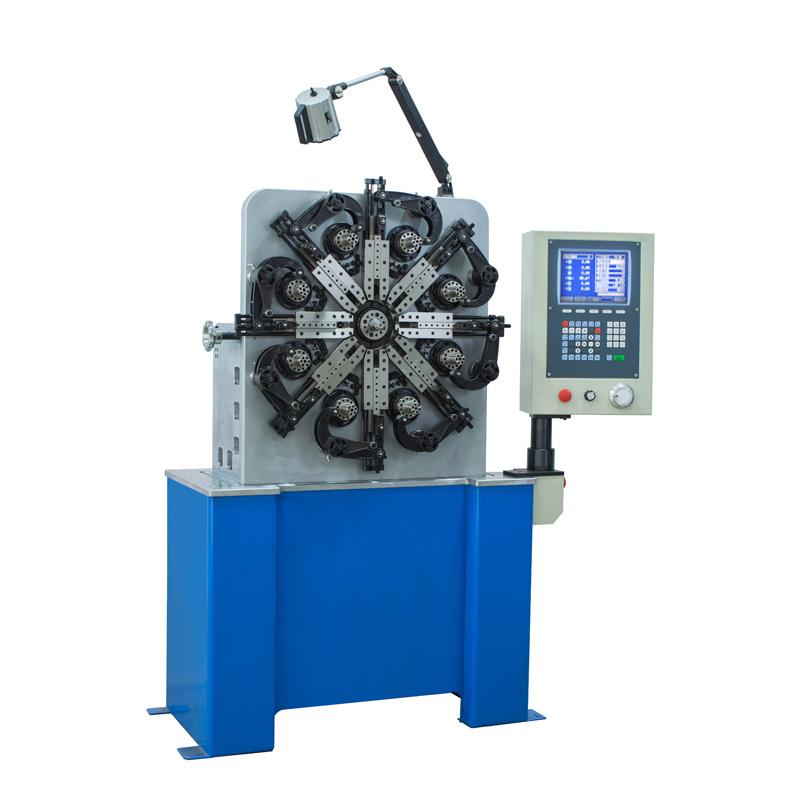 数控弹簧机视频_XD-CNC20数控万能弹簧机 - 东莞市鑫鼎机械设备有限公司